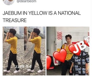 JB, kpop, and leader image