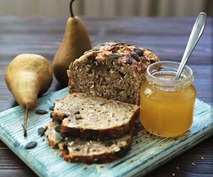 bread, food, and healthy image
