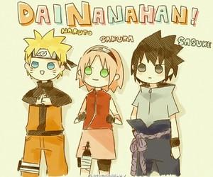 sakura, sasuke uchiha, and haruno sakura image