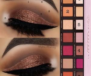 eyeshadow, make up, and tutorial image