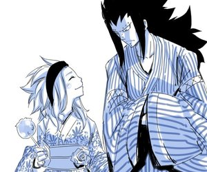 fairy tail, levy, and gajeel image