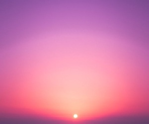 nature, summer, and sunset image
