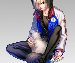 anime, cat, and yoi image