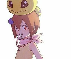 cartoons, hikari, and digimon image