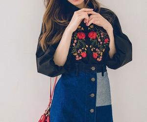 fall, fashion, and japan image