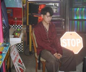 crush, boy, and korea image