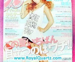 August, gyaru, and japanese image