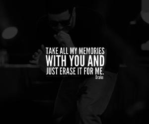 Drake, quotes, and typography image