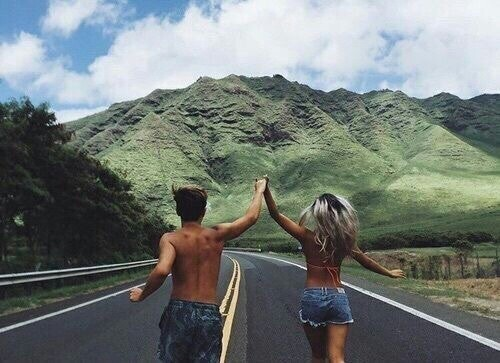 couple, love, and travel image