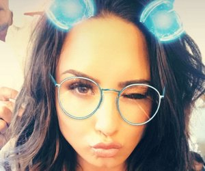 demi lovato, personal, and selfies image