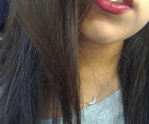 lip, red, and lipbalm image