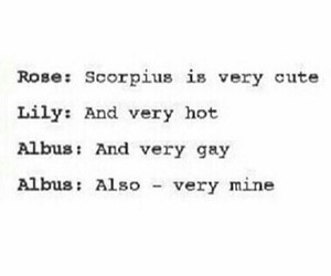 harry potter, tumblr, and scorpius malfoy image