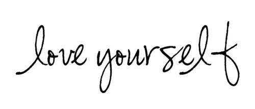 love, quote, and love yourself image