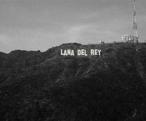 lana del rey, hollywood, and black and white image
