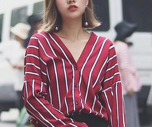 fashion, pretty, and red image