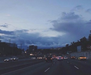 sky, blue, and grunge image