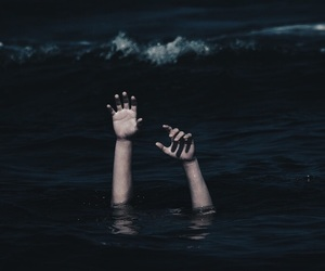 ocean, hands, and tumblr image
