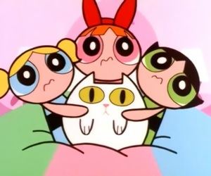 cartoon, bubbles, and ppg image