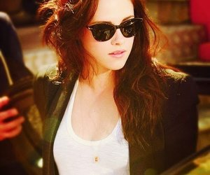 hair, style, and kristen image