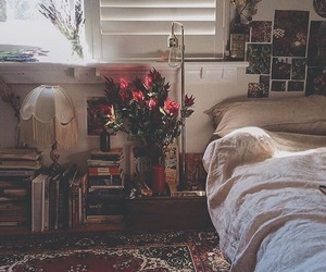 autumn, room, and vintage image