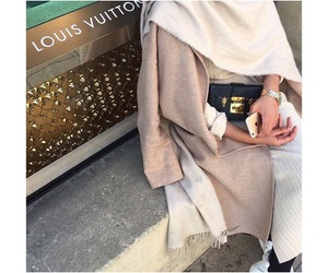 hijab, Louis Vuitton, and LV image