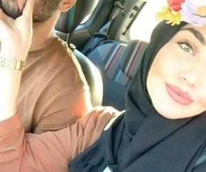 couple, hijab, and blg image