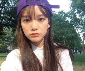 asian girl, cap, and ulzzang image