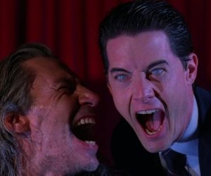 bob, Twin Peaks, and dale cooper image