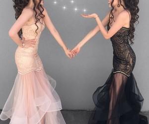 beautiful, pink dress, and Prom image