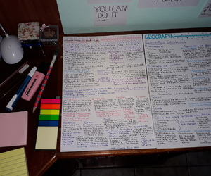 medicine, notes, and organized image