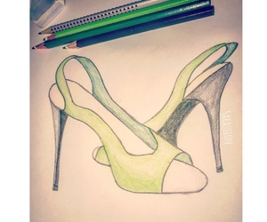 drawings, shoe drawings, and sandal image