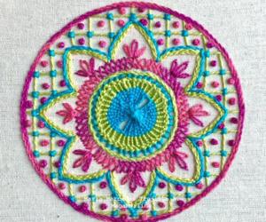 bordado, colores, and diy image