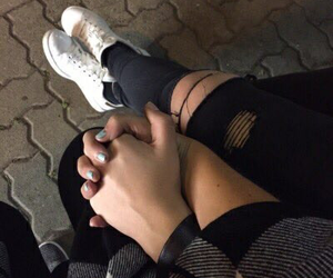 couple, goals, and hand image