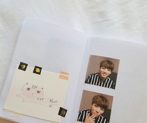 k-pop, notebook, and bts image