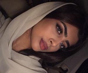 girl, hijab, and arabic image