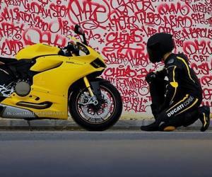 bike, black, and ride image