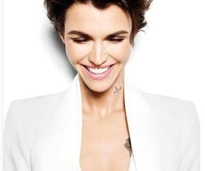 ruby rose, model, and tattoo image