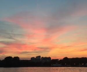 belgium and sunset image