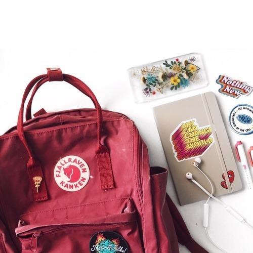 school, backpack, and kanken image
