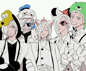 one piece, vinsmoke, and sanji image
