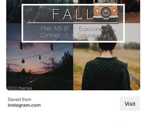 fall, filter, and filters image