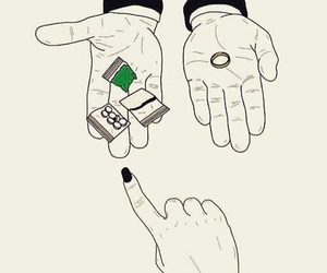 drugs, ring, and weed image