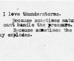 quotes, thunderstorm, and nature image