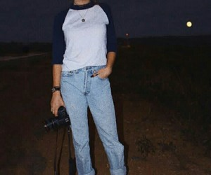 boyfriend, photo, and jeans image
