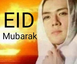 eid mubarak, exo, and kpop image