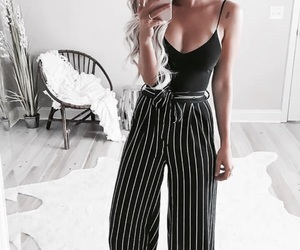 black top, goals, and trendy image