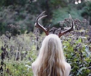 girl, nature, and fantasy image