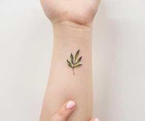 delicate and tattoo image