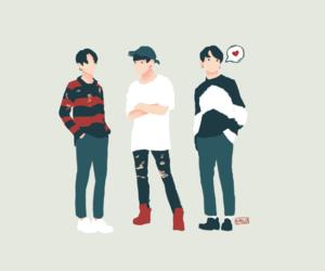 fanart, jin, and kpop image