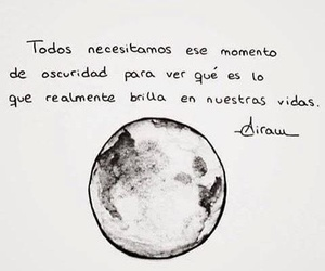 frases, Darkness, and citas image